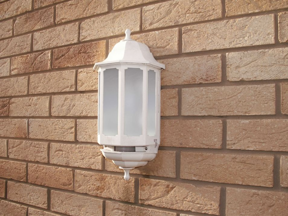 Asd hl wk060p white 60w half lantern security light with pir asd hlwk060p white 60w half lantern security light with pir mozeypictures Images